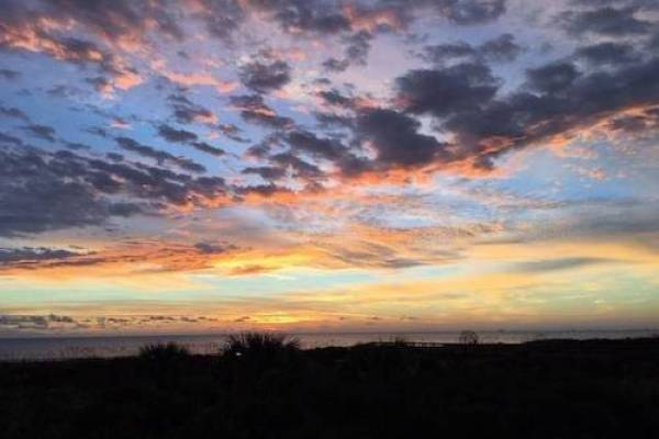 sunset at barefoot trace st augustine