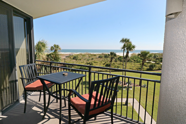 st augustine vacation rental patio