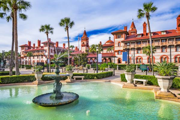 st augustine florida town square