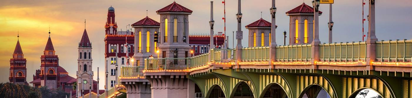 Lions Bridge in St. Augustine FL