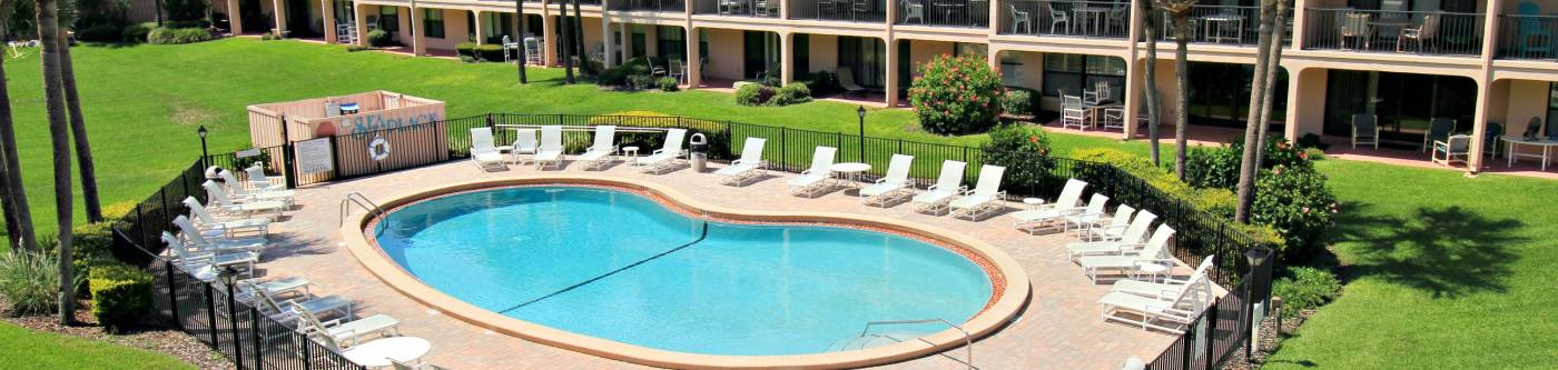 view of pool at sea place resort in st augustine florida