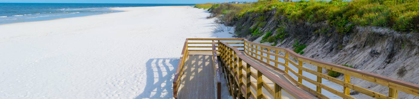 boardwalk to st augustine beach